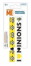 Despicable Me 2 Pack Of 2 Fabric Festival Wristbands BY PYRAMID FWR68002
