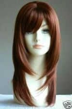 vogue straight long copper red straight health hair wig wigs for women