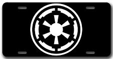 L@@K! Galactic Empire Star Wars Fan Art License Plate Vanity Auto Tag/Room Sign