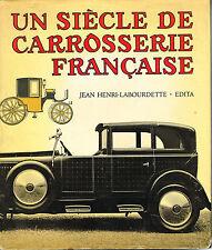 livre automobile: J.H. Labourdette: un siècle de carrosserie Française. edita