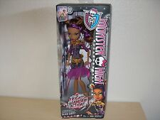 2013 MONSTER HIGH FRIGHTS CAMERA ACTION BLACK CARPET CLAWDEEN WOLF