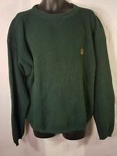 Tommy Hilfger sweater mens large heavy good condition green