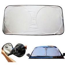 Folding Front Rear Car Window Sun Shade Windshield Visor Cover Block Reflective