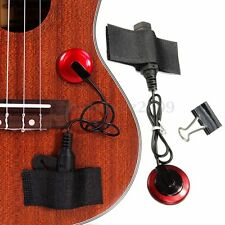 Piezo Contact Microphone Pickup Clamp For Chitarra Acustica Guitar Ukulele