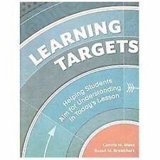 Learning Targets: Helping Students Aim for Understanding in Today's Lesson, Conn