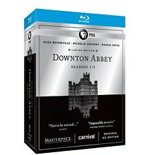Downton Abbey PBS TV Series Complete Season 1 2 3 4 5 Limited Edition BluRay Set