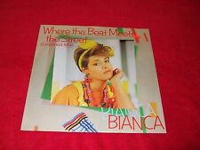 """BIANCA ~ WHERE THE BEAT MEETS THE STREET  12""""  MINT/NEVER PLAYED / IMPORT"""