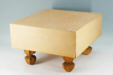 Japanese GO Game Board Wood 5sun Thickness:15cm 13kg w/legs 457k20