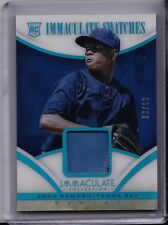 ENNY ROMERO 2014 Panini Immaculate 2-COLOR PRIME PATCH /99 Jersey Relic Card