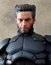 1/6 WOLVERINE 4 Head Sculp X Man Metal Claws Muscular Body Clothing Hot Toys