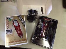 Wahl 5 Star Magic Clip 8148 Cordless Lithium-Ion Clipper + 8 Cutting Guides New!
