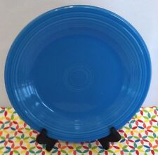 "Fiestaware Peacock Dinner Plate - Fiesta HLC Retired Blue 10.5"" Plate"