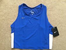 Womens Nike Dri-Fit Crop Top LARGE  Running Yoga Cycling GYM RRP £29.99