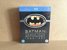 Batman The Motion Picture Anthology (Blu-ray, 1989-1997) BRAND NEW