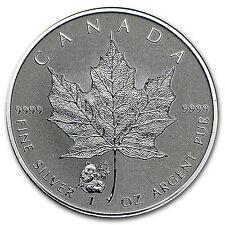 2016 Canada 1 oz Silver Maple Leaf Panda Privy BU - SKU #95029