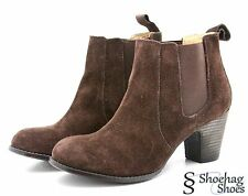 Nine West Womens Ankle Boots Size 10 M Brown Suede Vintage America Fashion IVREE