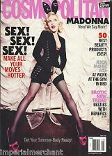 Cosmopolitan magazine Madonna Sex best beauty products Friends with benefits