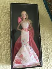 2010 Rose Splendor Barbie Doll- Avon - Pink Label NRFB