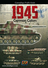 Camouflage Profile Guide: 1945 German Colors