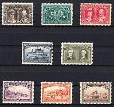 CANADA 1908 - COMPLETE QUEBEC TERCENTENARY COLLECTION - SCOTT 96 - 103 - MH VF+