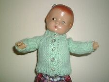 """SWEATER CARDIGAN FOR PATSYETTE 9"""" DOLL ADORABLE!"""