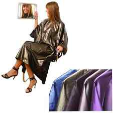 Salon Hairdressing Cutting Gown With Sleeves Water Resistant, Hair Tools, Mauve