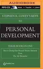 21 hours Stephen Covey's Keys to Personal Development ( 3 MP3 CD)