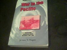 War in the Pacific by Jerome T. Hagen signed by author s13