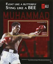 Ghana 2015 MNH Muhammad Ali Greatest of All Time 1v S/S Boxing Sports Stamps