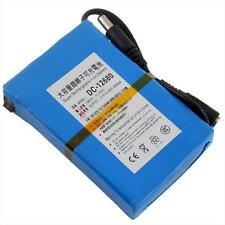 High Power 12V Rechargeable Li-po Battery for CCTV Cam 6800mAh Safe Delivery