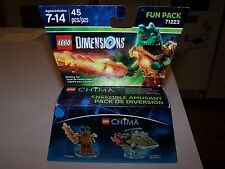 Lego 71233 Craggy and Swamp Skimmer Chima Dimensions Fun Pack MISB New