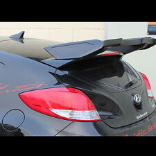 Rear Roof Wing Spoiler Unpainted Parts For Hyundai Veloster Turbo 2012~2016+