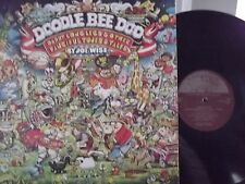 DOODLE DEE DOO DADDY LONG LEGS & OTHER FANCIFUL TUNES W/ SUPER RARE POSTER
