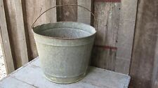 VINTAGE MID CENTURY WELL BUCKET ANTIQUE HOME GARDEN PLANTER POT BASKET YARD ART