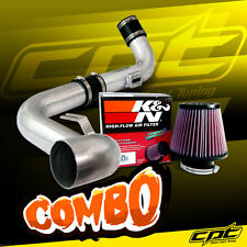 06-09 VW Golf GTI Turbo 2.0T 2.0L Polish Cold Air Intake + K&N Air Filter