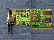Trident 3D Image 9750 AGP 4MB VGA Video Card TD975J REV:A LOW PROFILE BRACKET