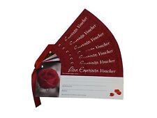 Set of 7 Red Love Vouchers | Romantic Coupons for Anniversary, Wedding, Birthday
