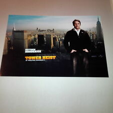 MATTHEW BRODERICK 'TOWER HEIST' In-person Broadway signed Photo 20x30