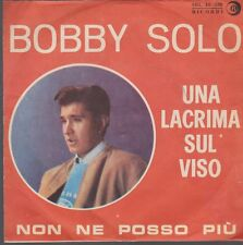 """7"""" Single Bobby Solo Una Lacrima Sul Viso / Family Life 70`s EMI"""