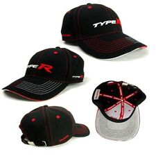 New! Genuine Honda Type R Black curved Peak Baseball Cap (Civic/Integra)