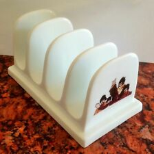 THE FAB FOUR yellow submarine CERAMIC TOAST RACK Paul McCartney, John Lennon