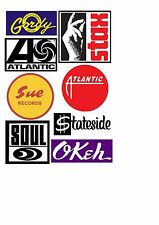 NORTHERN SOUL STICKERS  WIGAN CASINO MODS TORCH  STAX MOTOWN KEEP THE FAITH