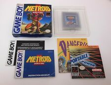 Game Boy Metroid II Return COMPLETE Good Cond. FAST FREE SHIPPING Nintendo CIB 2