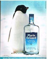 Publicité Advertising 1984 Liqueur marie Brizard