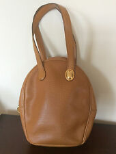 Authentic Christian Dior Made in France Genuine Camel Leather Purse