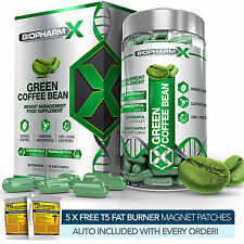 GREEN COFFEE BEAN EXTRACT - STRONGEST LEGAL SLIMMING /DIET & WEIGHT LOSS PILLS