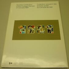 Official Canada 1981 Softcover Souvenir Postage Stamps Collection Album