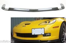 2006-2013 CORVETTE C6 Z06 CARBON FIBER ADD-ON FRONT LIP ZR1 STYLE CHIN SPLITTER