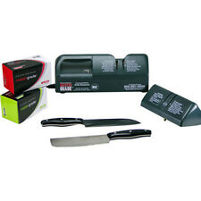 Master Grade Commercial Knife Sharpener It Works  USA EDITION NIB