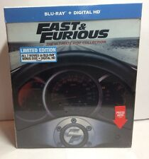 Fast and Furious: The Ultimate Ride Collection (Blu-ray Boxset+Digital HD) NEW